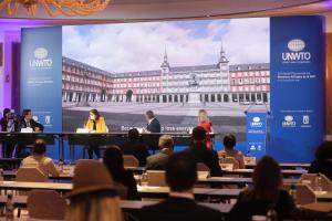42ª sesión plenaria de la Organización Mundial del Turismo en Madrid