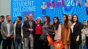 Madrid Student Welcome Day