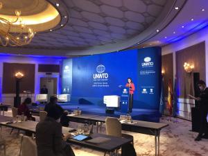 Maíllo en la 42ª sesión plenaria de miembros afiliados de la Organización Mundial del Turismo
