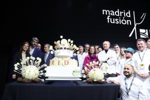 Almudena Maíllo en la inauguración de Madrid Fusión