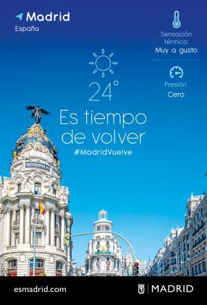 """Campaña """"Vuelve a Madrid"""""""