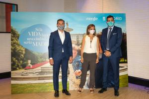 Presentación campaña Madrid y Renfe