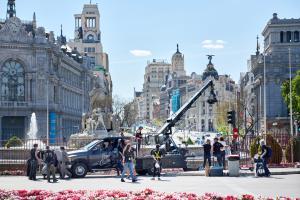 Rodaje de la superproducción Way Down de Jaume Balagueró en Madrid (c) Jose Haro