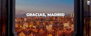 Video Madrid para. Para volver más fuerte